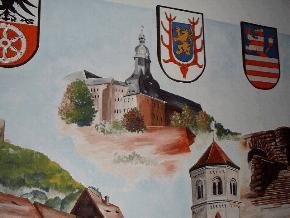 The castle Sondershausen