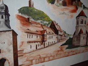 The Saxony Castle Ruins